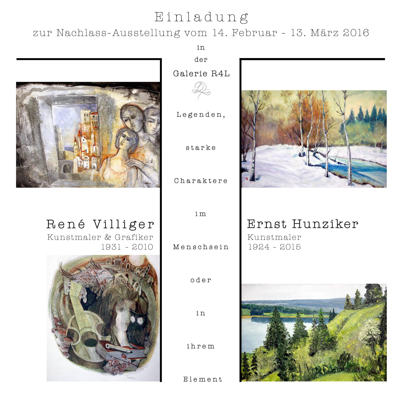 Kunstausstellung Rene Villiger