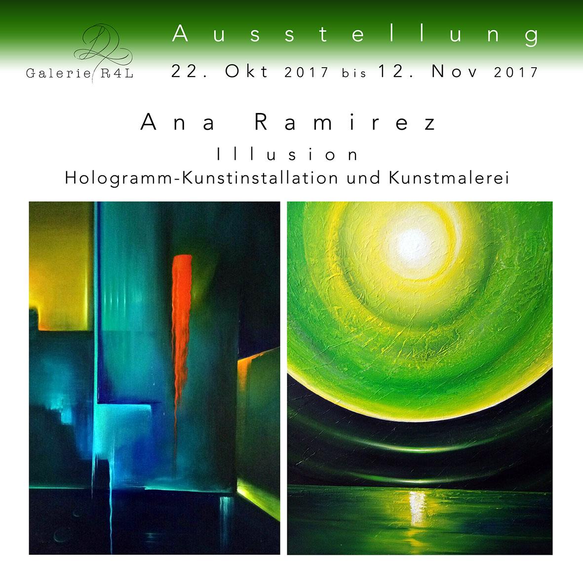 Kunstausstellung Ana Ramirez