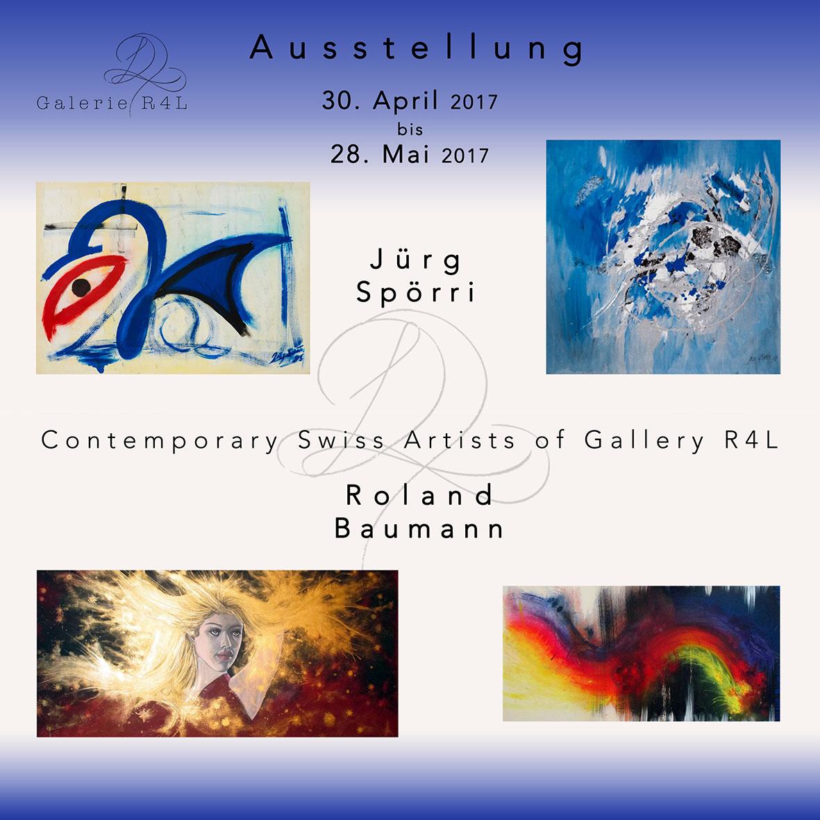 Kunstausstellung Jürg Spörri & Roland Baumann