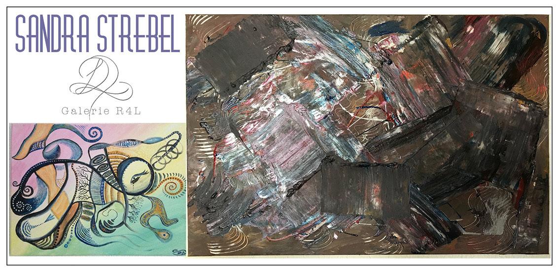 Kunstausstellung Sandra Strebel