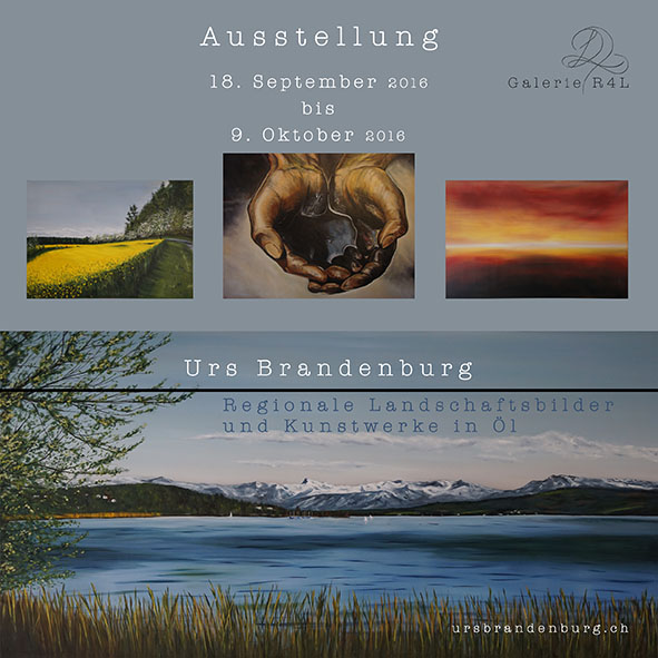 Kunstaustellung Urs Brandenburg