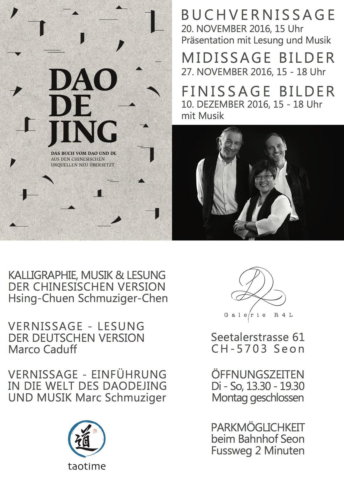 Kunstaustelung Dao de Jing