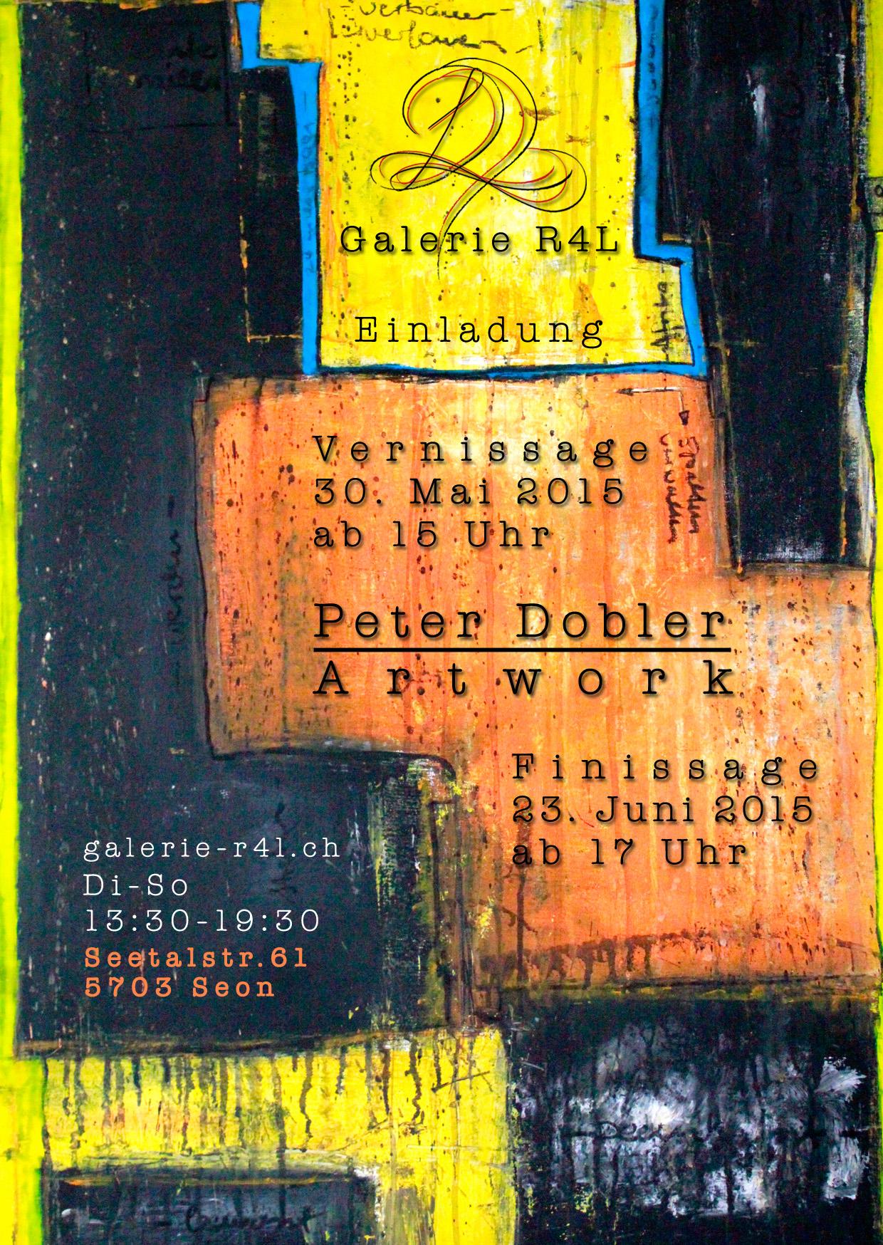 Kunstausstellung Peter Dobler