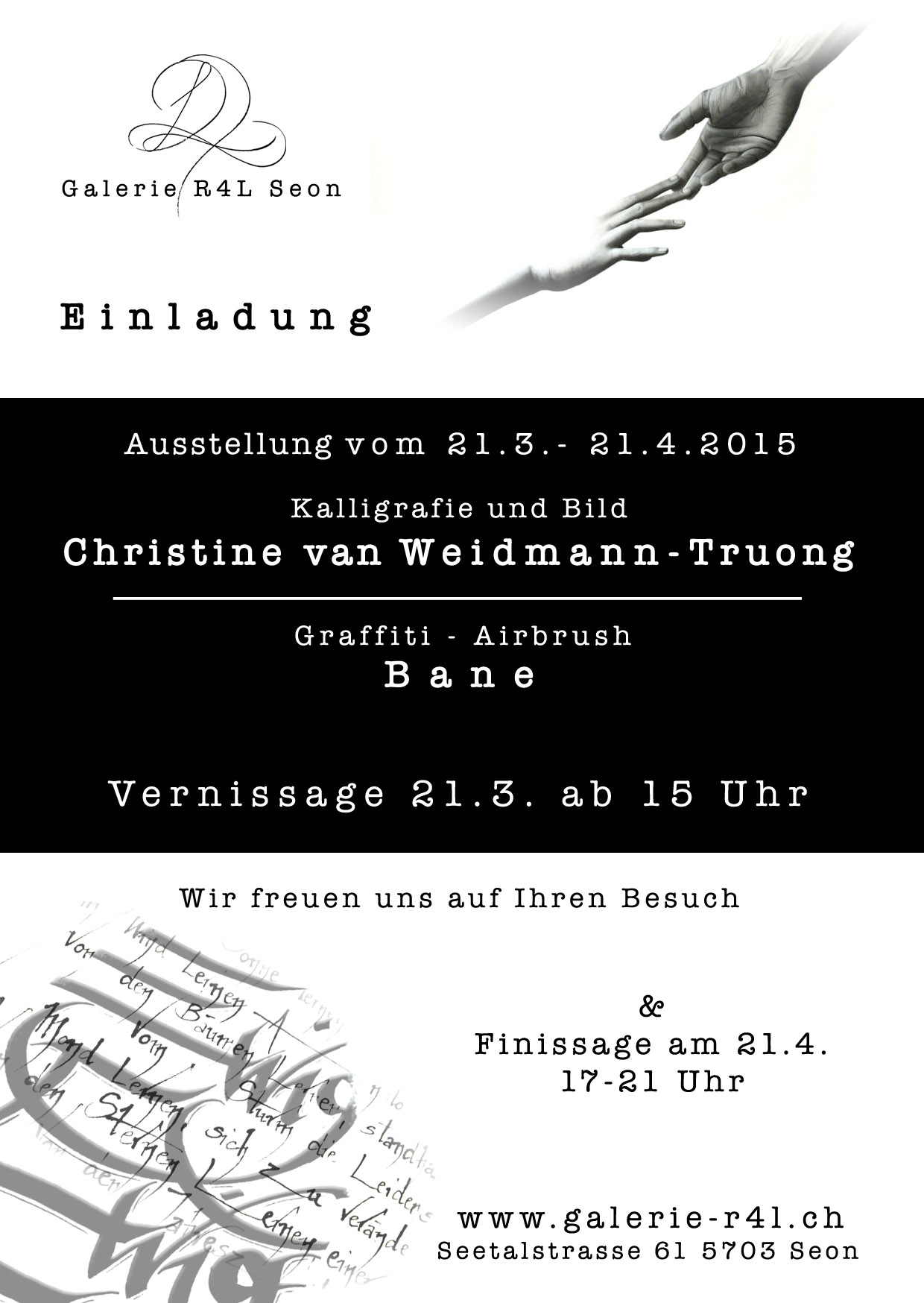 Kunstausstellung Christine van Weidmann-Truong