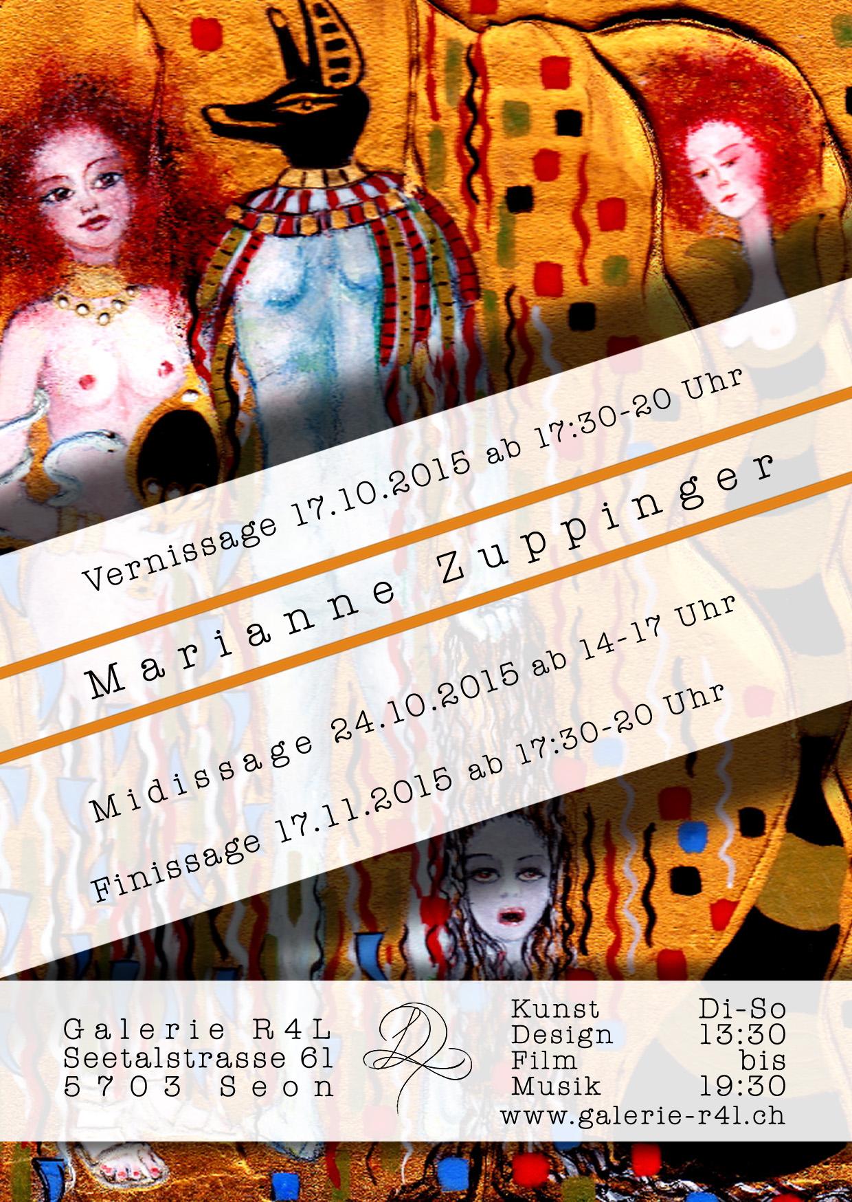 Kunstausstellung Marianne Zuppinger