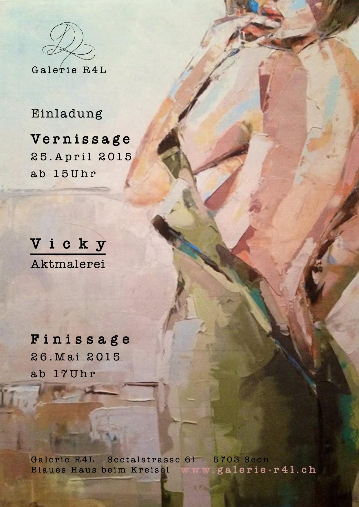 Kunstausstellung Vicky